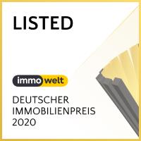 Siegel Deutscher Immobilienpreis 2020 - Immowelt